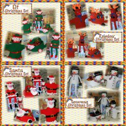 Christmas Sets Special Offer ~ Buy all 4 Christmas Sets and only pay for 3 - crochet patterns