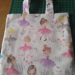 Child's Cream Ballerina Bag 3