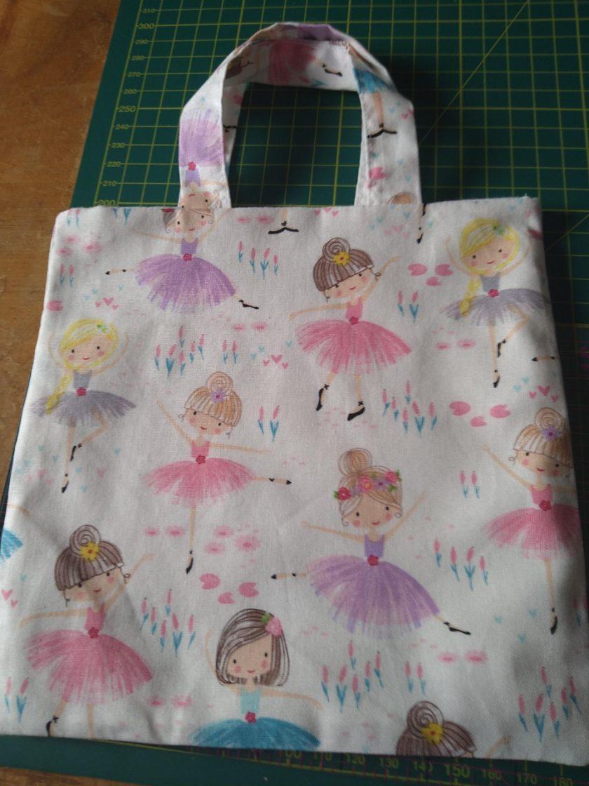 Child's Cream Ballerina Bag 1