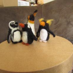 Needle Felt Mini Penguin