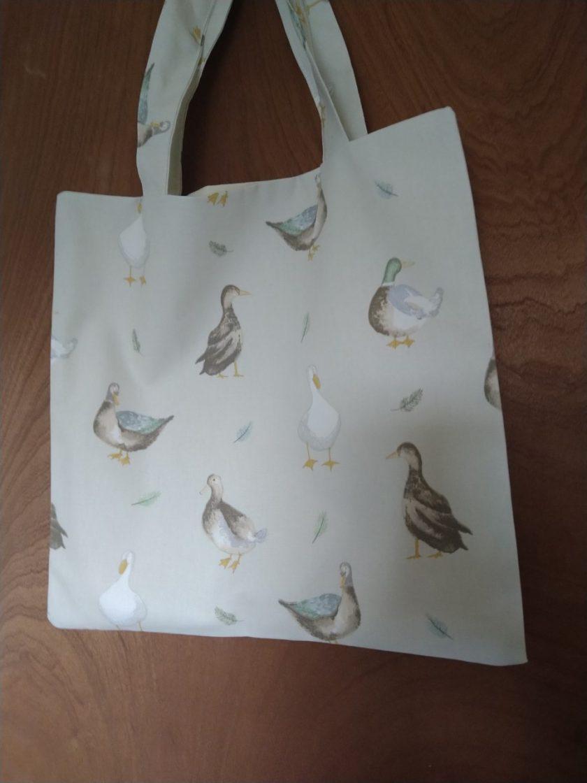 Duck tote bag 1