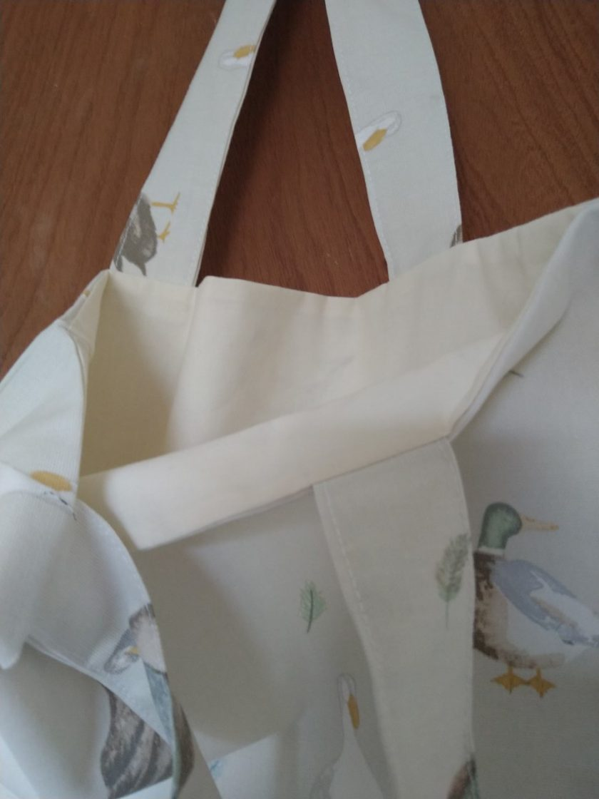 Duck tote bag 3