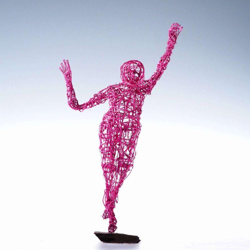 Dance Sculpture - Feels So Good- Wire Sculpture 1