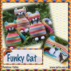 Funky Cat - crochet pattern