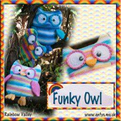 Funky Owl - crochet pattern