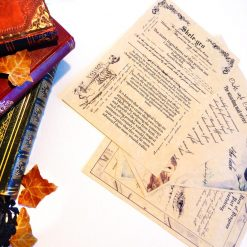Harry Potter inspired journal pages