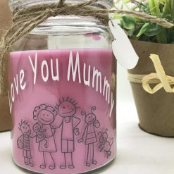 Love you mummy Scented Candle Gift