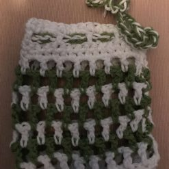 Crochet Reusable Cleansing Pads (6) and Bag 7