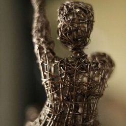 Dance Sculpture - If The Stars We're Mine - Wire Sculpture 7