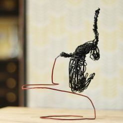 Dance Sculpture - Do You Feel? - Wire Sculpture 6