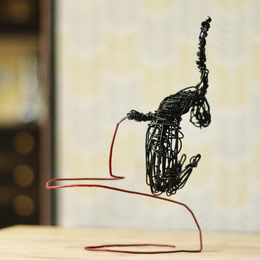 Dance Sculpture - Do You Feel? - Wire Sculpture 3