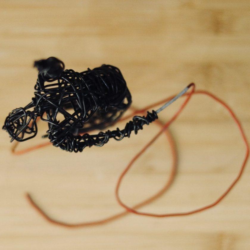 Dance Sculpture - Do You Feel? - Wire Sculpture 4