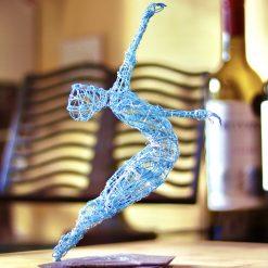 Dance Sculpture - Roll The Dice - Wire Sculpture 23
