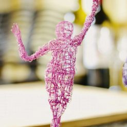 Dance Sculpture - Feels So Good- Wire Sculpture 10