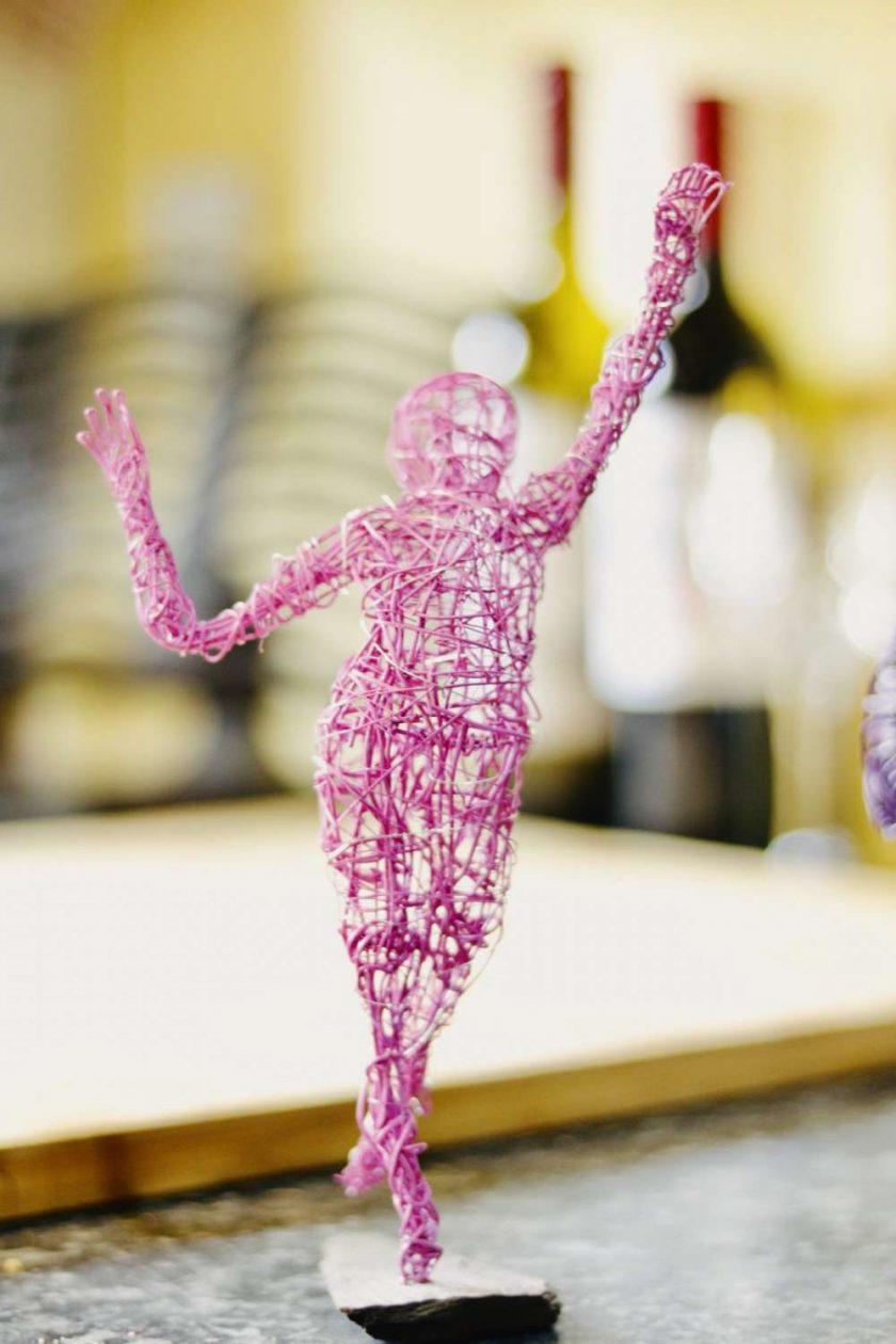 Dance Sculpture - Feels So Good- Wire Sculpture 3