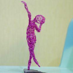 Dance Sculpture - Feels So Good- Wire Sculpture 14