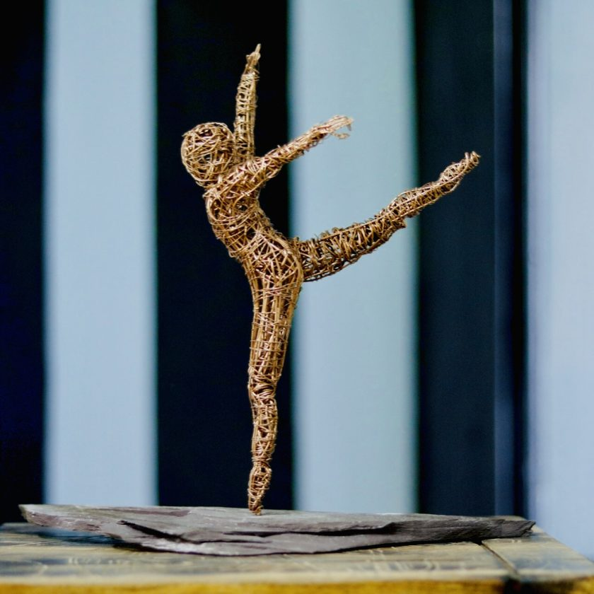 Dance Sculpture - If The Stars We're Mine - Wire Sculpture 3