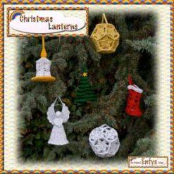 Christmas Lanterns - crochet pattern