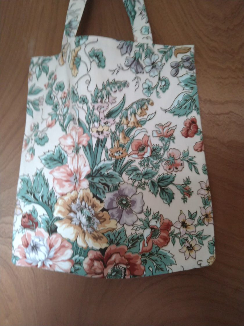 Tote Flower Bag 1