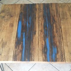 Furniture - Unique handmade resin and reclaimed wood coffee table