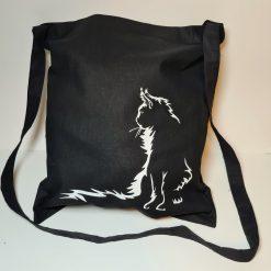 Beautiful Cat Tote Bag , Cross Body One Handle Bag Can Be Personalised