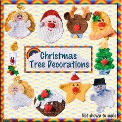 Christmas Decorations - crochet pattern