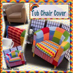 Tub Chair Cover - crochet pattern