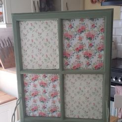 Furniture - Upcycled vintage window frame shelf