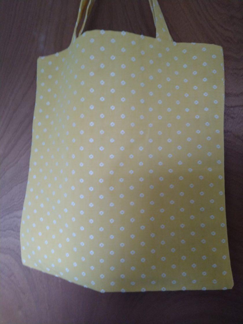 Yellow Tote Bag 1