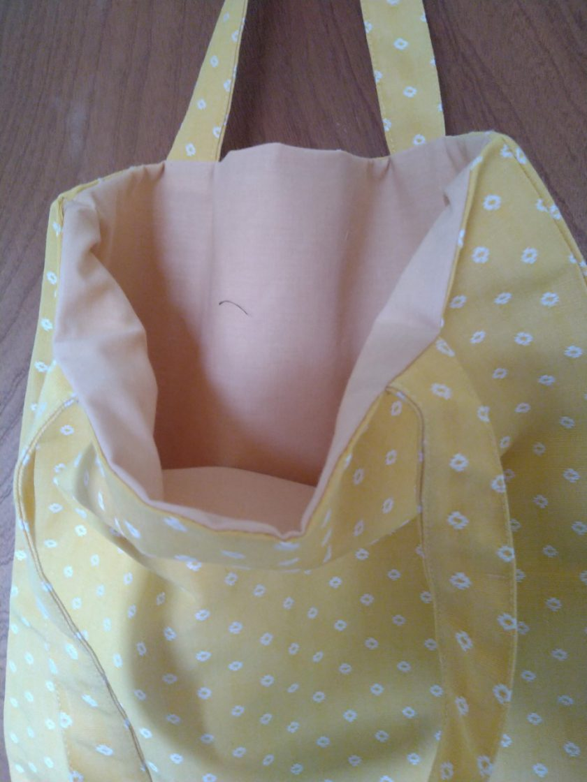 Yellow Tote Bag 3