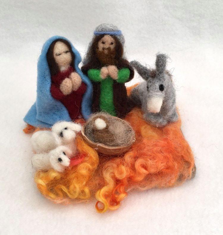 A Beautiful Nativity Scene 1