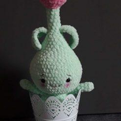 Crochet Tulip Bulb Doll