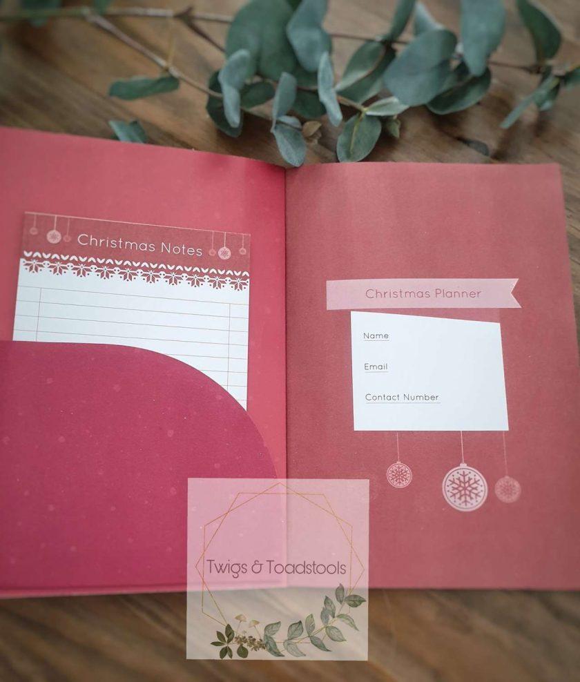 Personalised christmas planner 2