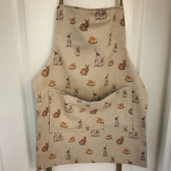 Rustic Style Apron Available in Various Prints with Pocket and Adjustable Neck Strap 4