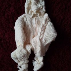Aaron Cable Knit Toddlers Onsie