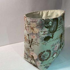 Fabric vanity box/bag - Paris Inspired