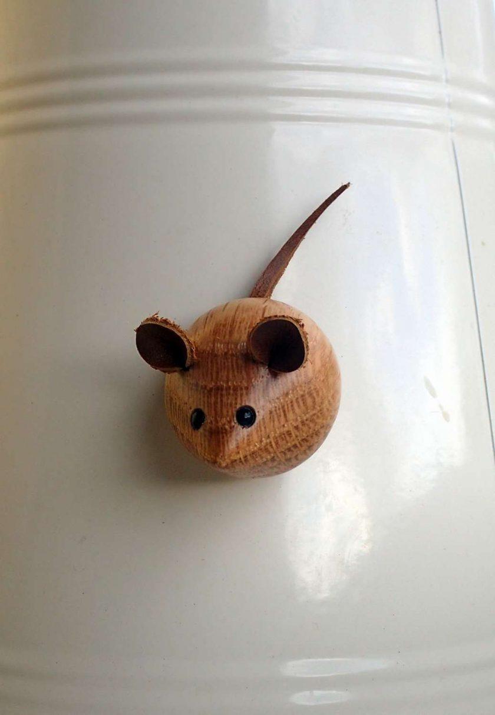 Mouse Fridge Magnet  (mm14) 1