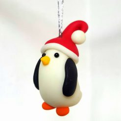 Penguin hanging ornament - glow in the dark - Christmas tree decoration 1