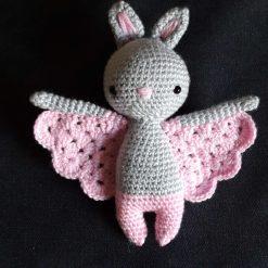 Hand Crochet Bat Doll