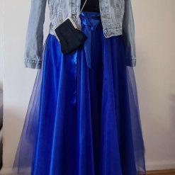 Royal Blue Tutu, Tulle Skirt, Bridesmaid Tutu, Adult Tutu, Wedding Tutu, Flower Girl Dress, Flower Girl Tutu, BlueTutu