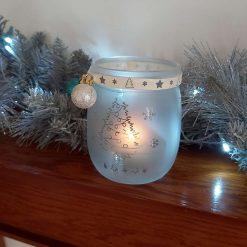 Christmas tealight holder 6