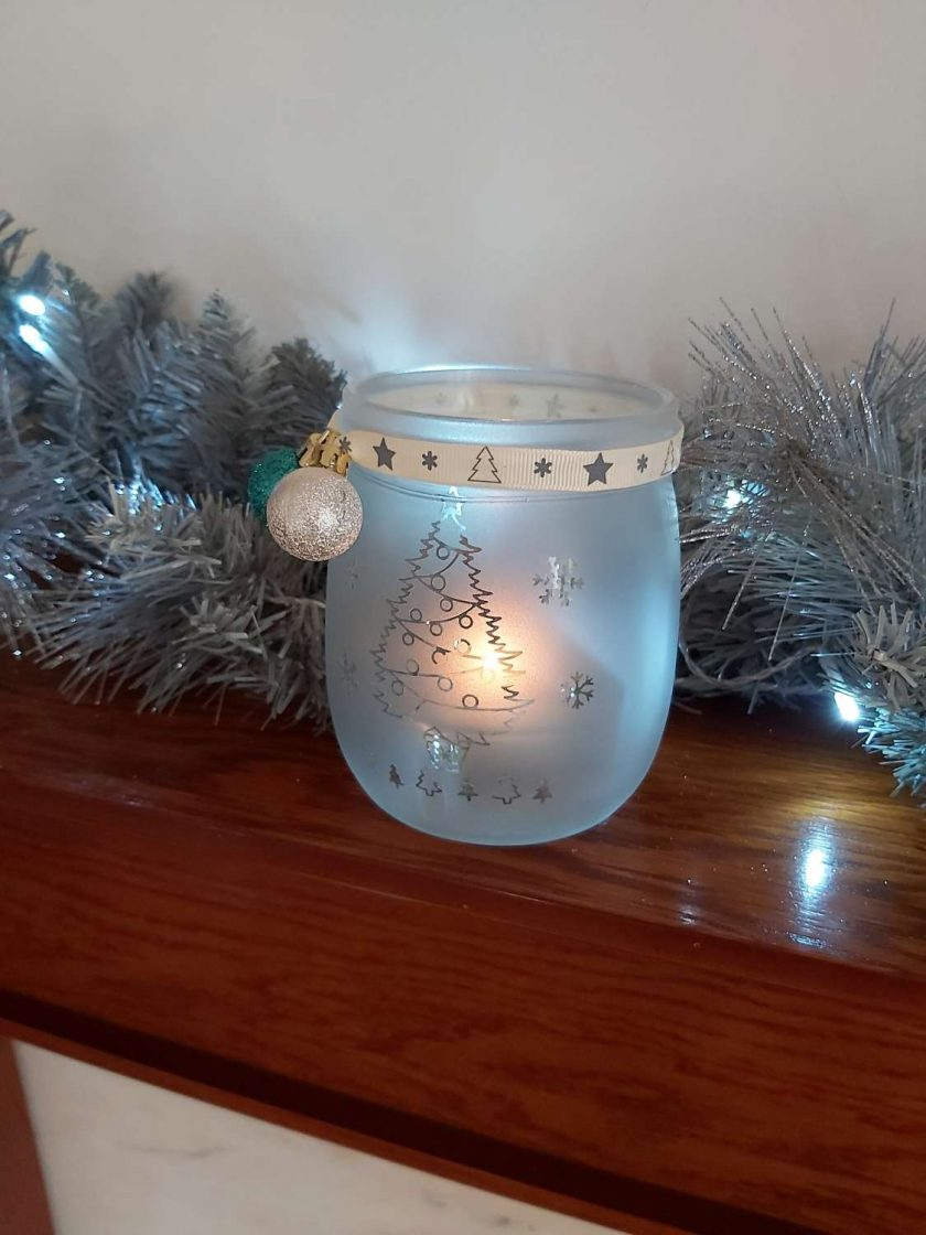 Christmas tealight holder 3