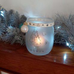 Christmas tealight holder 5