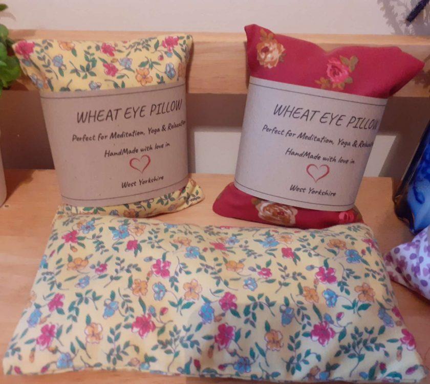 Rose Wheat Eye Pillow 3