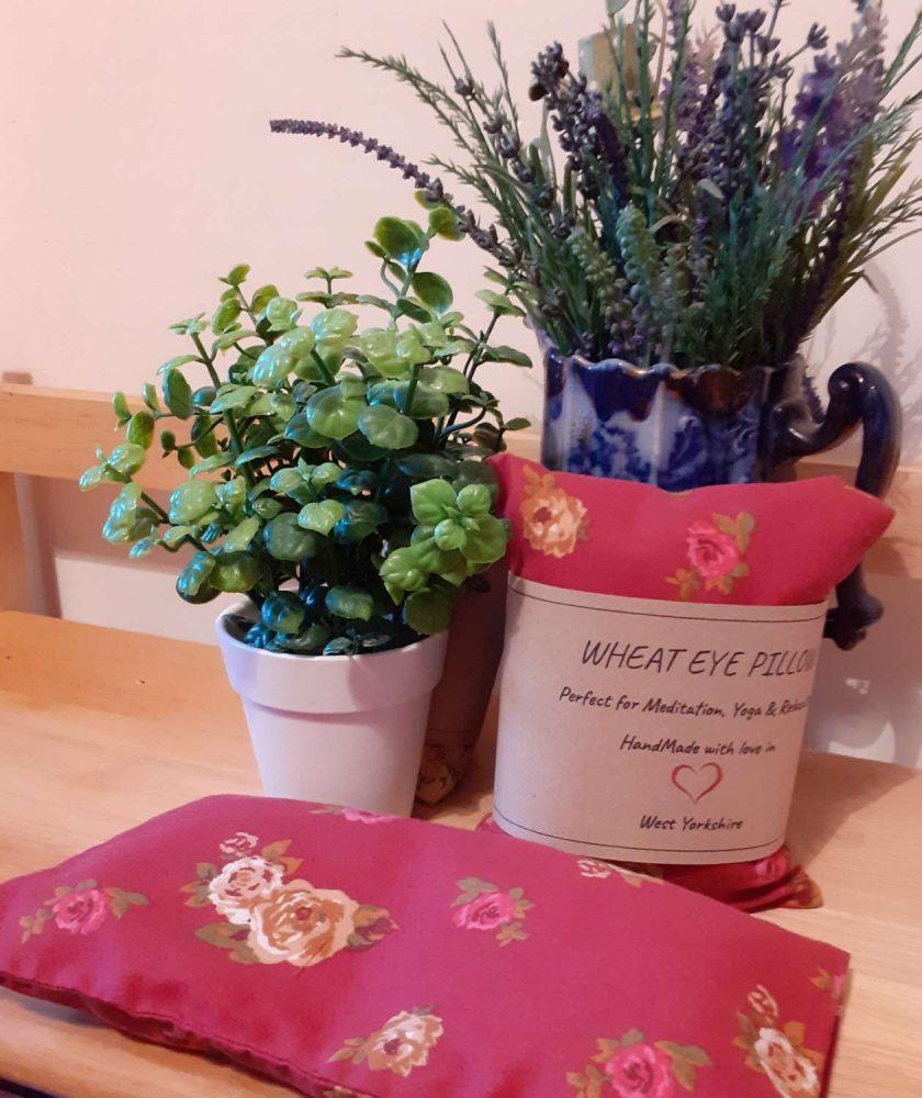 Rose Wheat Eye Pillow 4