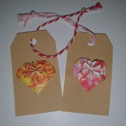 Origami Star- Gift Tags