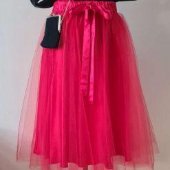 Rich Red Tutu, Tulle Skirt, Bridesmaid Tutu, Adult Tutu, Wedding Tutu, Flower Girl Dress, Flower Girl Tutu, Red Tutu