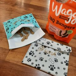 Personalised Reuseable pet treat bag
