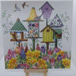 Gorgeous Bird House Tile