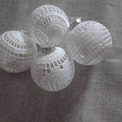 Christmas Crochet Baubles